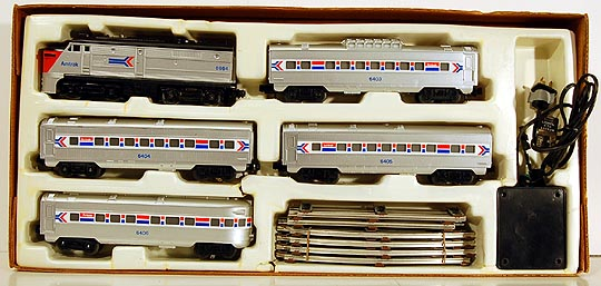 Lionel 6-1663 Amtrak Lake Shore Limited Complete Ready-To-Run Diesel Passenger Train Set