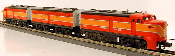 Lionel 6-8552 Southern Pacific Daylight ALCO FA2 ABA Diesel Engines
