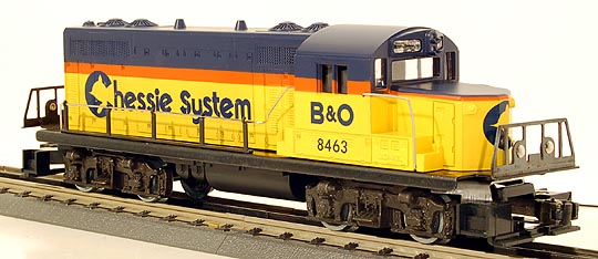 Lionel 6-8463 Limited Edition Chessie GP-20 Diesel Engine