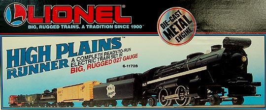 Lionel 6-11728 High Plains Runner M-K-T Ready-To-Run Steam Freight Set