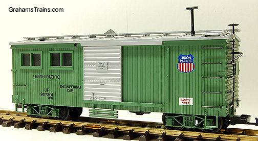 USA Trains G-Scale/Large Scale R-1854 Union Pacific Work Train Engineer Car