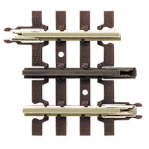"Atlas-O 6052 1-3/4"" O-Gauge, 3-Rail, Straight Track Section 4-Pack"