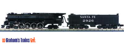 MTH 30-1140-1 Santa Fe 4-8-4 Northern Steam Engine with ProtoSound?