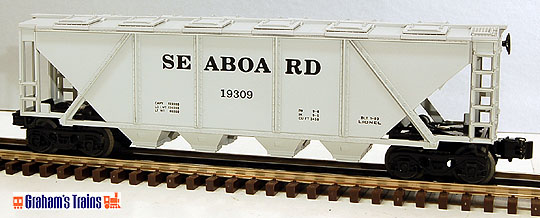 Lionel 6-19309 Seaboard Covered Hopper