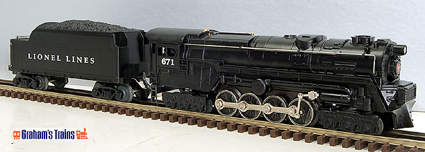 Lionel 6-18057 Century Club 671 Steam Turbine Loco and Tender