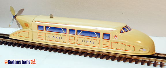Lionel 2160 Rail Zeppelin Tin Wind-up by Schylling