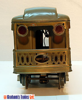 Lionel 318E Electric 0-4-0 Engine and 337, 337, 338 Passenger Cars, Prewar Passenger Set, Std. Gauge