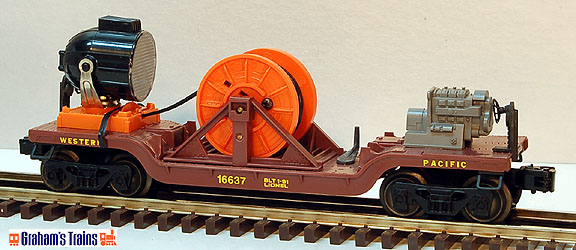 Lionel 6-16637 Western Pacific Extension Searchlight Car