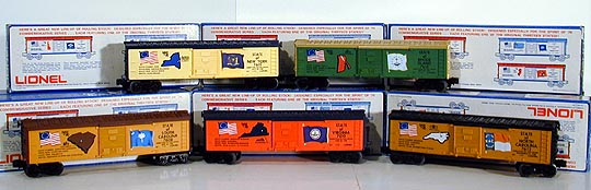 Lionel Complete Spirit of \'76 Train Set 6-1776, 6-7600 Through 6-7613