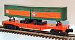 Lionel 6-9282 Great Northern Flatcar with Trailers
