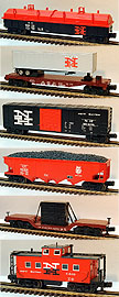 MTH 30-7013 New Haven 6-Car Freight Set