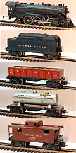 Lionel 1666 Steam Freight Set - Prewar