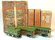 Lionel #8 Electric Locomotive, #337 Coach Car, #338 Observation Car - Std. Gauge Prewar