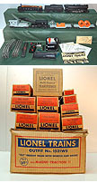Lionel 1521WS Steam Freight Set - Postwar
