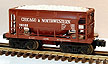 Lionel 6-19322 Chicago & Northwestern Ore Car with Load