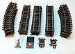 Lionel Super-O Track 14-Curves, 15 Straights Plus More, Includes Center Rail Buss Bars