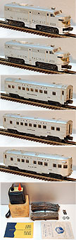 Lionel 1464W Union Pacific Diesel Passenger Set - Postwar 1952