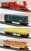 Lionel 6-1053 James Gang Set, Santa Fe O-Gauge