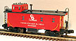 MTH Premier 20-90015F Chesapeake & Ohio Steel Caboose